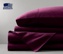 Пододеяльник Boston Jefferson Sateen Dark Plum